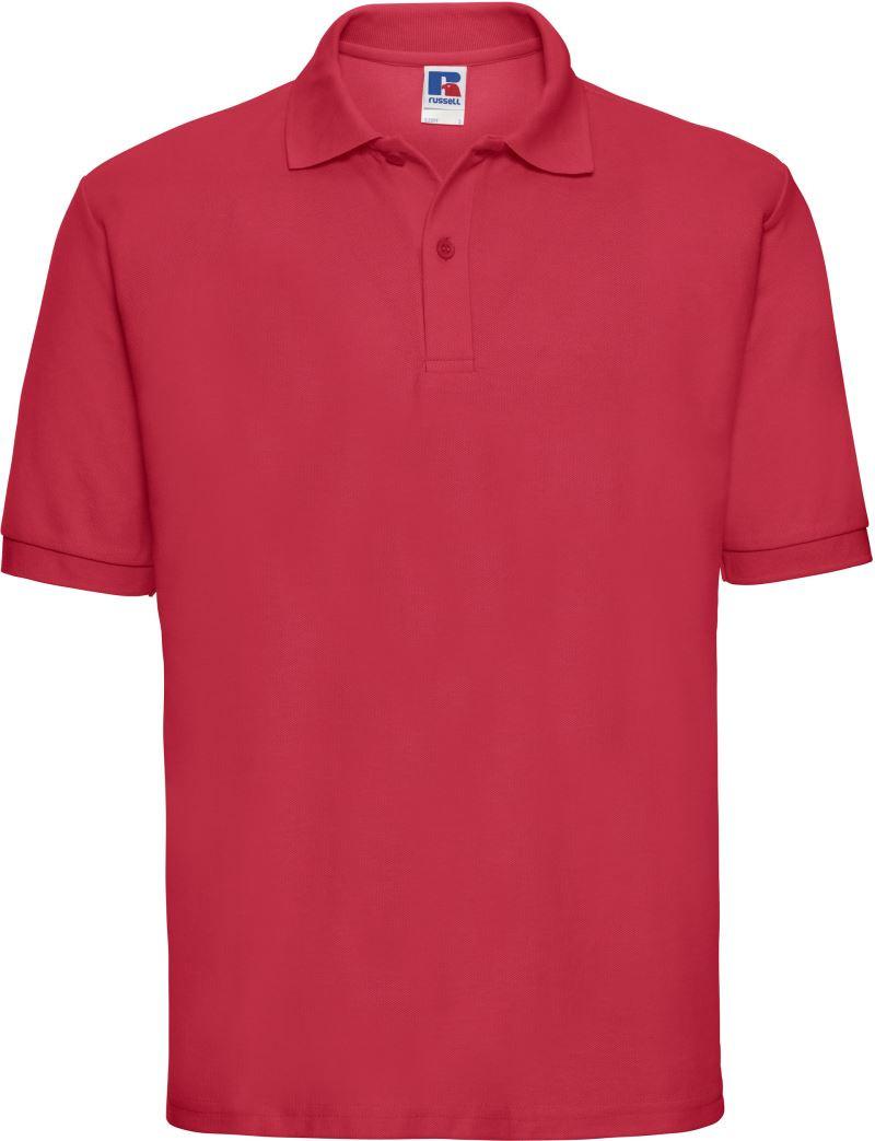Russell 539M Polyester Baumwolle Schule Workwear Freizeit SPORTS Polohemden